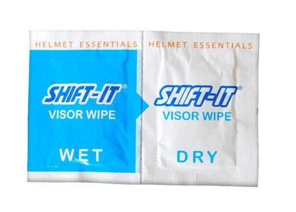 Image of SHIFT IT VISOR WIPES x 2