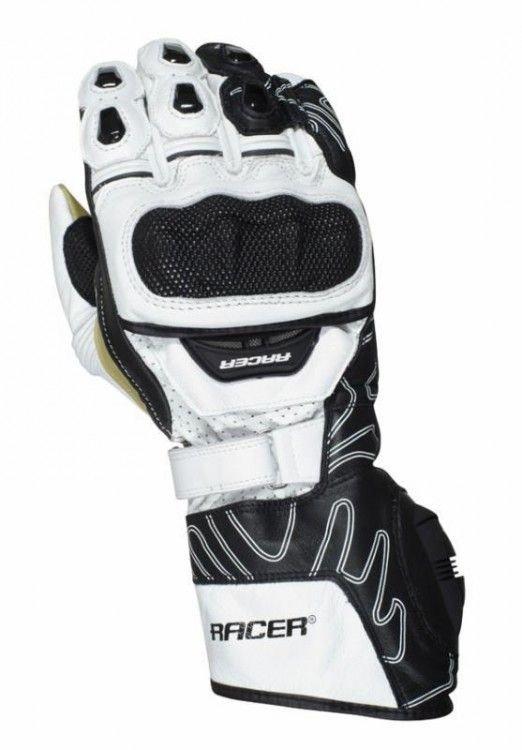 Image of RACER HIGH SPEED GLOVE - WHITE