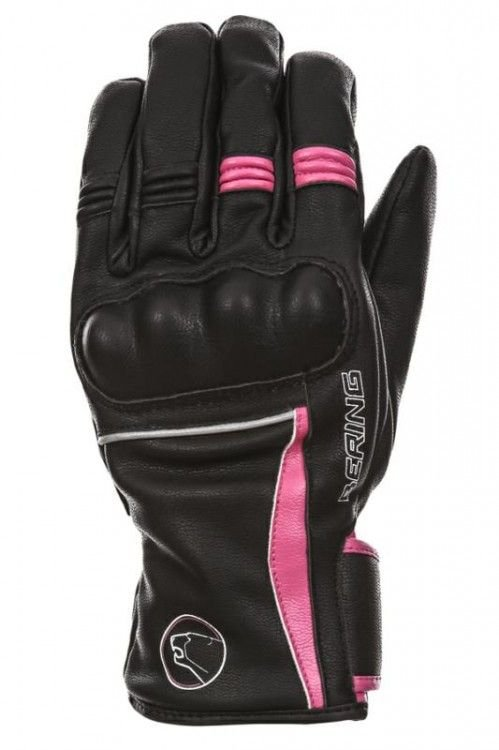 Image of LADY POLKA GLOVE BLK/PINK