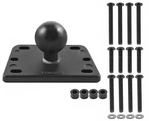 "Image of RAM MOUNTS RES COVER BASE 1"" BALL CENTRE"