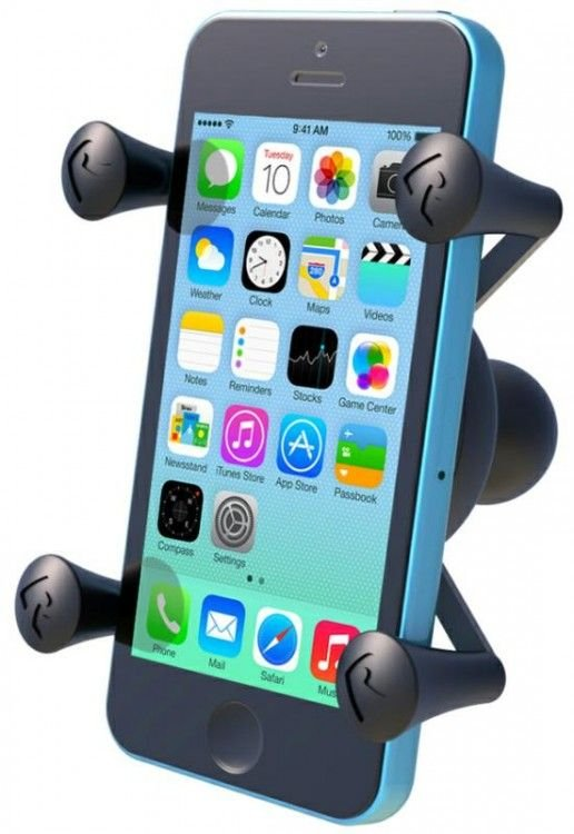 Image of RAM MOUNTS UNI X GRIP W/BALL BASE S/PHONE