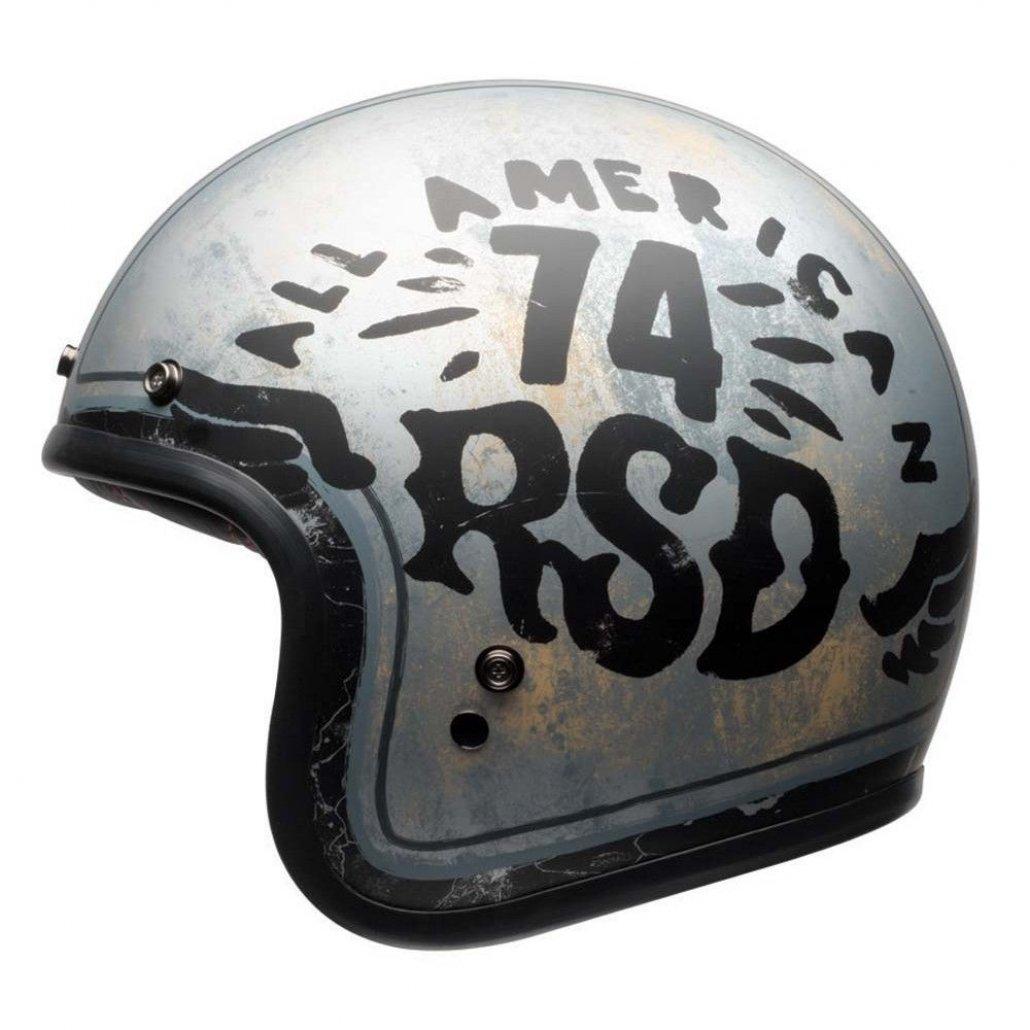 Image of BELL CUSTOM 500 HELMET - RSD 74