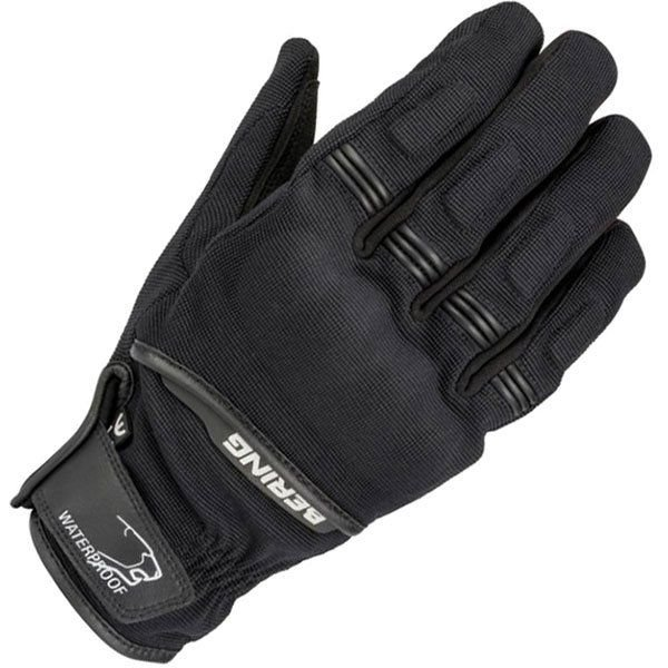 Image of BERING BORNEO WATERPROOF GLOVE - BLACK