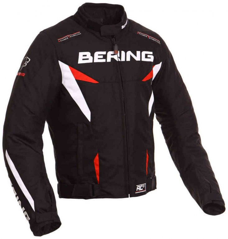 Image of BERING FIZIO JACKET - BLK/RED