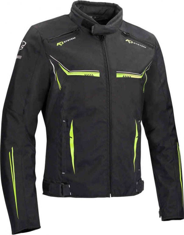 Image of BERING ROSS JACKET - BLACK/FLUO