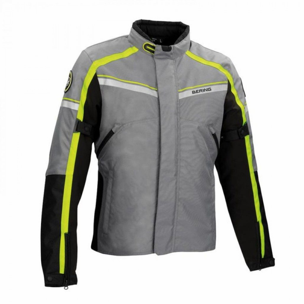 Image of GREENWICH JKT BK/ANT/FLUO