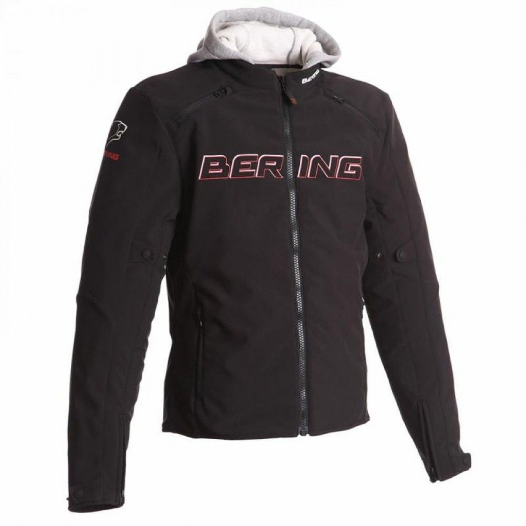 Image of BERING JAAP JACKET - BLK/RED