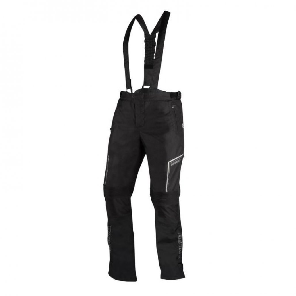 Image of BERING DUSTY TROUSERS - BLACK