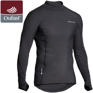 Image of HALVARSSONS POLO OUTLAST LONG SLEEVE SHIRT - BASE LAYER