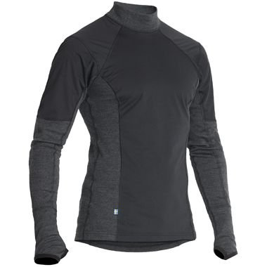 Image of HALVARSSONS POLO WIND WOOL OUTLAST LONG SLEEVE - BASE LAYER