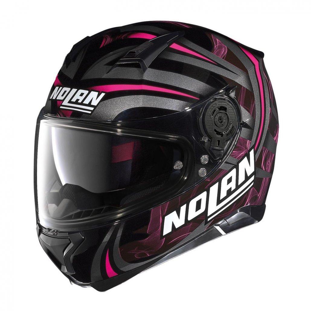 Image of N87 Ledlight N-Com Glossy Black-Pink