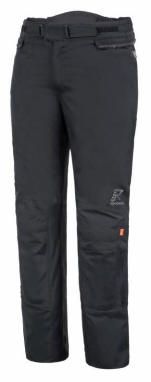 Image of RUKKA KALIX 2.0 LAMINATE GORETEX WATERPROOF TEXTILE TROUSERS - BLACK
