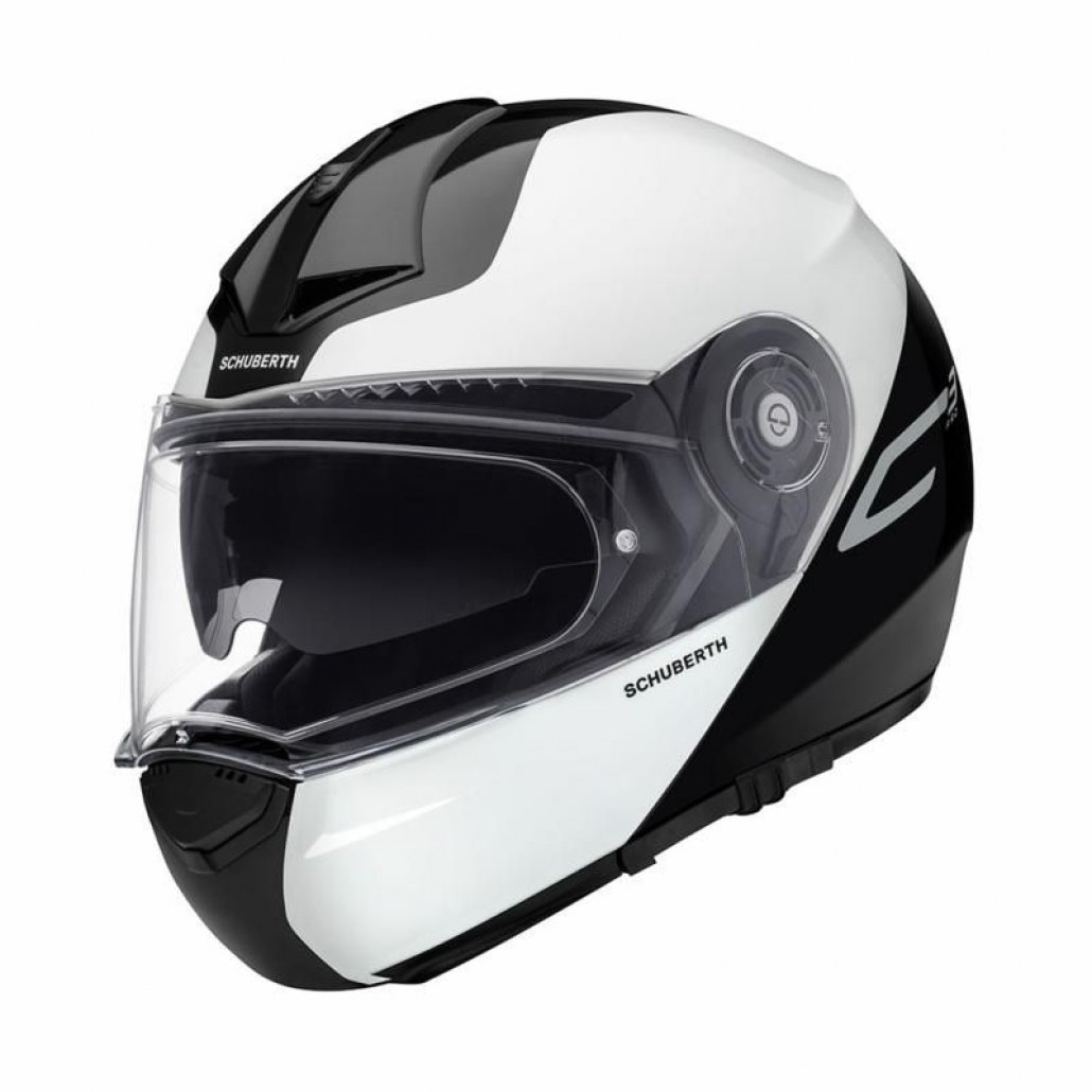 Image of SCHUBERTH C3 PRO - SPLIT WHITE