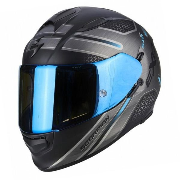 Image of SCORPION EXO 510 - ROUTE BLUE