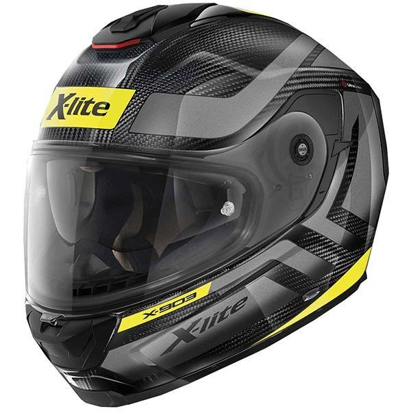 Image of X-LITE X-903 ULTRA CARBON - AIRBOURNE - CARBON/YELLOW