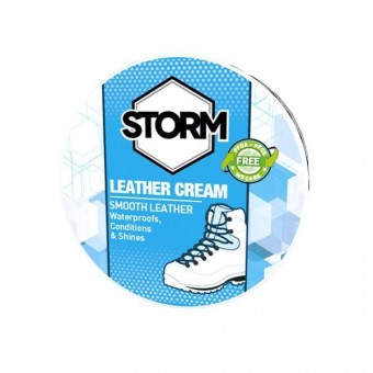 STORM LEATHER CREAM BLACK image