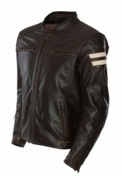SEGURA STRIPE JACKET - BROWN image