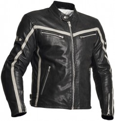HALVARSSONS 310 LEATHER JACKET - BLACK - ONLINE ONLY image
