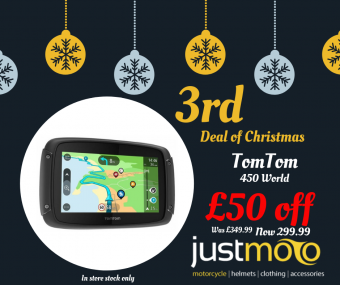 TOMTOM 450 WORLD - £50 OFF - IN STORE ONLY image