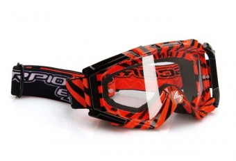 # GOGGLE RED/BLACK image