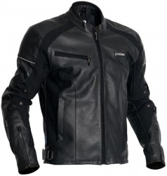 JOFAMA ATLE LEATHER JACKET WATERPROOF - BLACK image