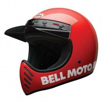 BELL MOTO 3 HELMET - CLASSIC RED image