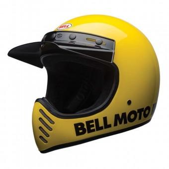 BELL MOTO 3 HELMET - CLASSIC YELLOW image