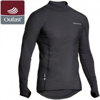 HALVARSSONS POLO OUTLAST LONG SLEEVE SHIRT - BASE LAYER image