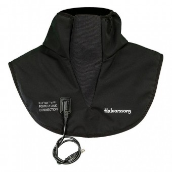 HALVARSSONS POWER BANK HEATED COLLAR - BLACK image