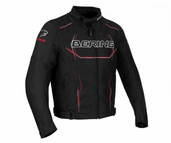 BERING FORCIO TEXTILE JACKET - BK/RD/W - ONLINE ONLY image