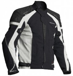 HALVARSSONS WALKYR LAMINATE JACKET - BLACK/GREY image