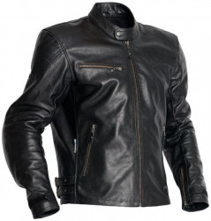 HALVARSSONS LEMMY LEATHER JACKET - BLACK - ONLINE ONLY image