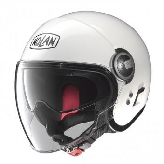N21 Visor Classic Metal White image
