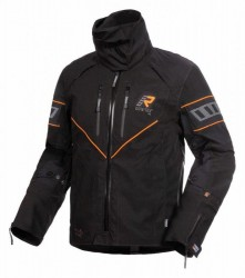 Nivala Jacket Black Orange image
