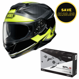 SHOEI GT AIR 2 - AFFAIR TC3 + SENA SRL 2 BUNDLE image