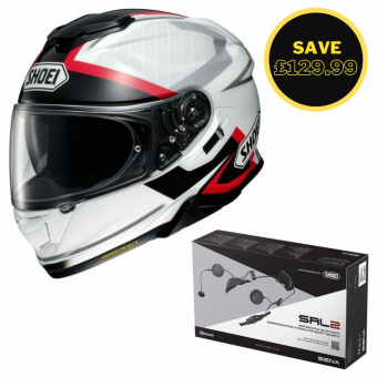 SHOEI GT AIR 2 - AFFAIR TC6 + SENA SRL 2 BUNDLE image