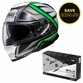 SHOEI GT AIR 2 - HASTE TC4 + SENA SRL BUNDLE image