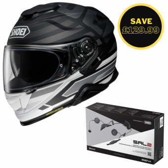 SHOEI GT AIR 2 - INSIGNIA TC5 + SENA SRL 2 BUNDLE image