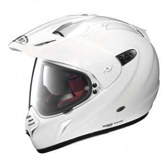 X-551 GT On/Off Road Full Face Start N-Com Metal White image