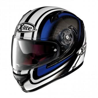 X-661 Road Full Face Slipstream Metal Black/Blue image
