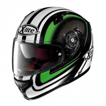 X-661 Road Full-Face Slipstream Metal Black/Green image
