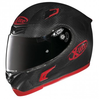 X-802RR Ultra Carbon Road Full-Face Puro Sport Carbon/Red image
