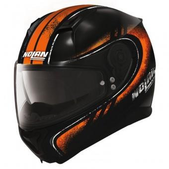 N87 Fulgor N-Com Metal Black-Orange image